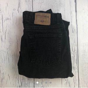 London Jean black slim jeans size 10 mid rise
